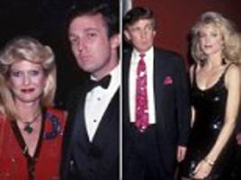 trump fails to express remorse for affair with marla maples while married to ivana