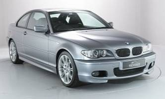 almost-as-new bmw e46 3 series trio heading to auction