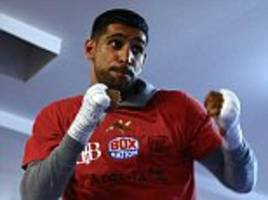 capital wants to stage super fights... starting with amir khan vs kell brook, urges mayor of london