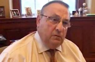 maine gov.: maybe we need a president trump to 'show some authoritarian power'