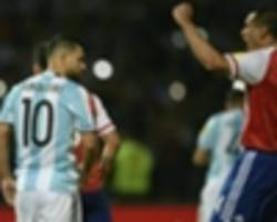 aguero ready to be dropped by argentina