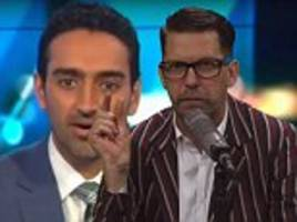 waleed aly called a 'virgin' with a 'micro penis' in a pro-trump video by vice co-founder
