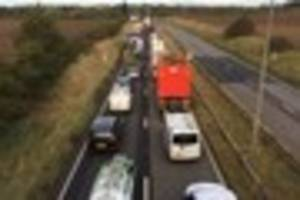 updates as a63 crash causes two-hour delays