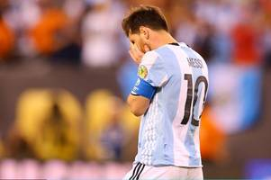 lionel messi wasn't appreciated when he took them to world cup finals ... now argentina need him back desperately