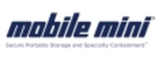 Mobile Mini Schedules 2016 Third Quarter News Release and Conference Call for Tuesday, October 25th