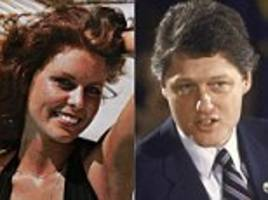 how bill clinton's penthouse pet lover died in a mysterious house fire that her sister believes was started to cover up her affair with the then arkansas governor