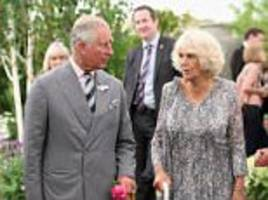 is nicholas witchell back for round two? bbc man prince charles said was 'awful' risks another royal row after asking a cheltenham literary festival audience if camilla should be queen