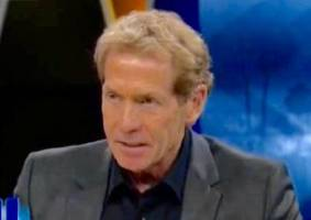 watch skip bayless seriously try to claim that tony romo's breakup with jessica simpson revived his career