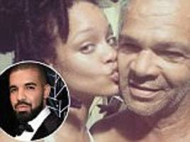 rihanna shares instagram snaps with her father ronald during family holiday in barbados