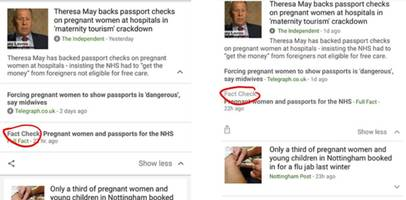 Google will now help you fact-check Trump (and other lies)