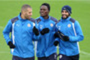 Vardy, Mahrez and Slimani getting special training sessions -...