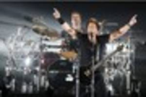 nickelback open uk tour at nottingham's motorpoint arena - review...