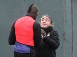 roberto mancini reveals all behind training ground bust-up with mario balotelli and the striker's exit from manchester city