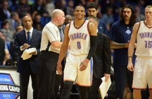 Angry Russell Westbrook wanted to fight Marc Gasol (Video)