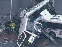 WATCH: New Video Shows NJ Transit Bus Run Red Light Before Fatal Crash