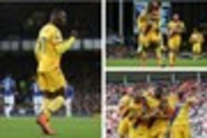 who's the daddy? this crystal palace ace certainly is right now,...