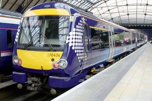 trains between glasgow and ayr cancelled after person struck on track