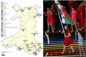 this is what the commonwealth games would have looked like if it had been held across wales