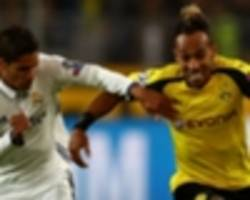 Dortmund determined to keep Real Madrid target Aubameyang