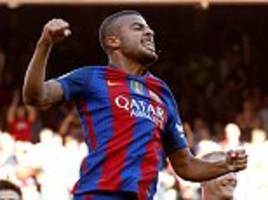 Barcelona 4-0 Deportivo: Rafinha, Luis Suarez and Lionel Messi among the goals as hosts romp to victory