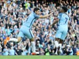 manchester city 1-1 everton: nolito rescues point for pep guardiola after romelu lukaku strike