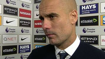 manchester city 1-1 everton: guardiola 'sad for players' after draw