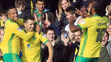 norwich move top of championship