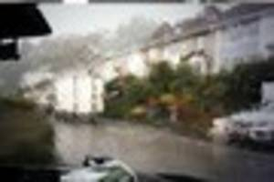 heavy rain and flash flooding causing problems on cornwall's...