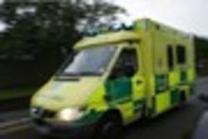 Road closed after car 'flips onto roof' in serious crash in South...
