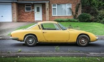 graham hill's lotus elan +2 up for auction at no reserve