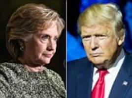 New poll has Donald Trump just FOUR POINTS behind Hillary - while another has her winning by double digits