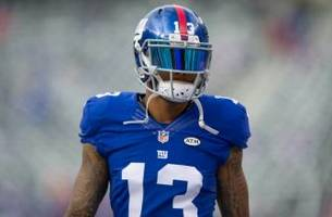Odell Beckham Jr. Injury Update: Giants Receiver Leaves with Hip Injury