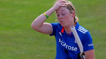 west indies v england women: five run-outs cost tourists as windies level at 2-2