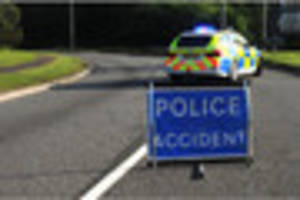A4230 New Road blocked at Skewen after vehicle fire