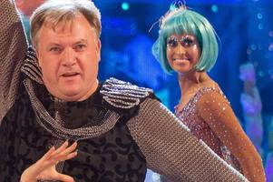 strictly come dancing viewers fuming ed balls survived another week as naga munchetty loses dance off