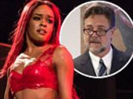 Azealia Banks claims Russell Crowe assaulted her in his hotel room
