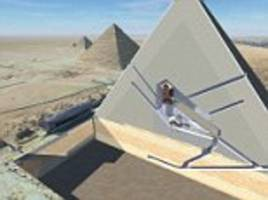 Great Pyramid's secret rooms: Two mysterious 'cavities' are uncovered in Egypt's 4,500-year-old monument