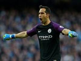 Claudio Bravo says old club Barcelona are the ones under pressure in Champions League showdown with Manchester City