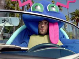 adam levine is a drunken, sex-crazed pokémon in maroon 5's latest video