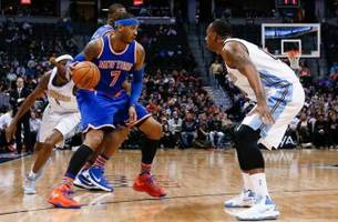 new york knicks: carmelo anthony to facilitate pick and roll