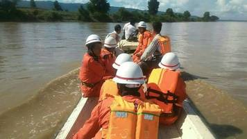 Scores missing in Myanmar ferry capsize accident
