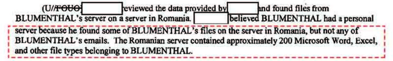 hillary's server hacked after all? fbi docs reveal a confidential file was found on a romanian server