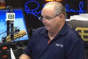 limbaugh: the pollsters are not 'showing the race as it is' yet, but they will soon