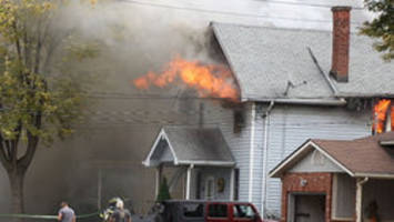 Several homemade bombs found at Welland house fire