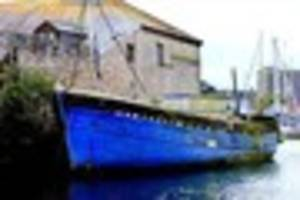 Rotting trawler which played part in man's death 'will soon be...