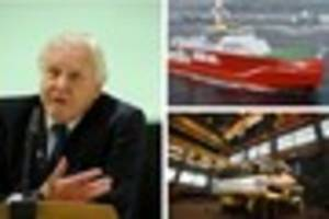 cambridge news published david attenborough attends ceremony to mark start of cambridge...
