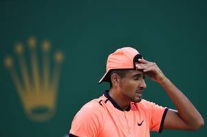 nick kyrgios banned from tennis for three weeks after bad boy 'gave up' during match