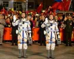 China sends two astronauts to space lab