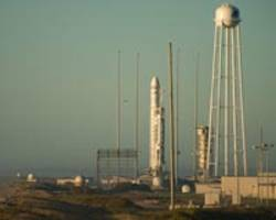 Orbital ATK launches cargo into space aboard Antares rocket