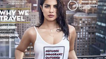 priyanka chopra sorry for magazine cover 'insulting refugees'